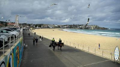 Bondi Beach i Sydney.