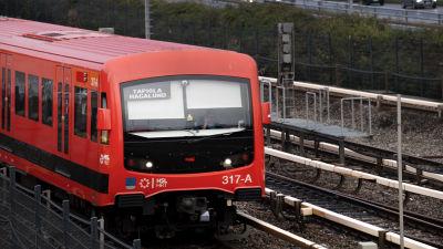 Helsingin metro.