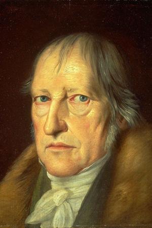 Schlesingers målning av Hegel som gammal