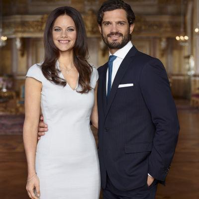 Prins Carl Philip och Sofia Hellqvist.