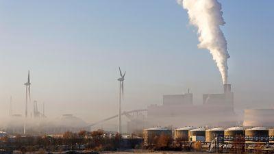 Kolkraftverk i  Moorburg, Hamburg, Tyskland