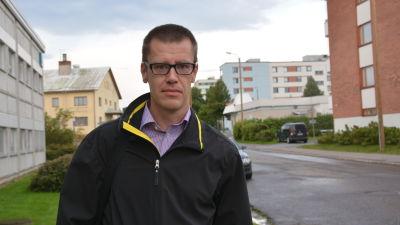 Jens Perus, projektledare för SeaGIS som framställt en karttjänst över Kvarken.