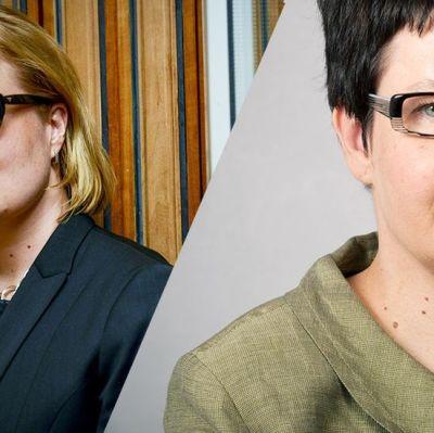 Laura Räty och Tarja Filatov.