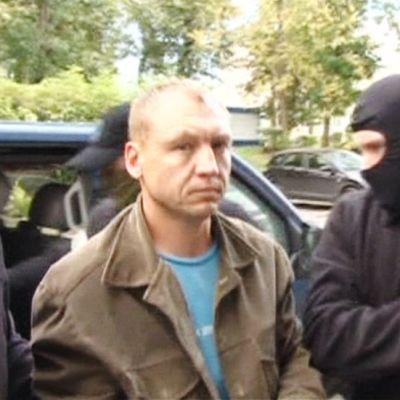 Valokuva upseeri Eston Kohverista pidätettynä Venäjällä.