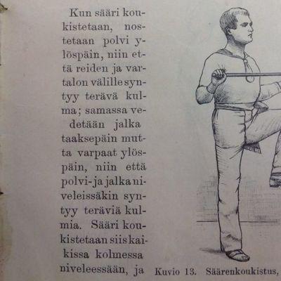 vanhan kirjan sivu