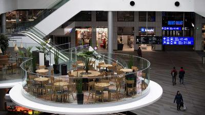 Autio ostoskeskus Helsingin Pasilassa.