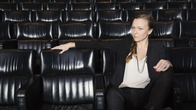 Andrea Reuter, bilden är tagen i Bio Mauritz i Filmhuset i Stockholm.