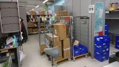 Allt fler vill att Posten levererar paketen ända hem.