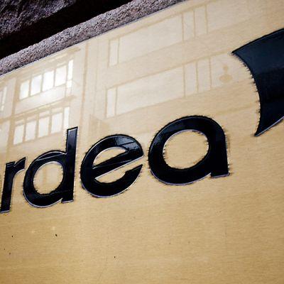 Nordea-pankin logo.