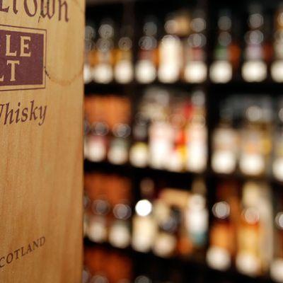 Skotlantilaisia viskejä