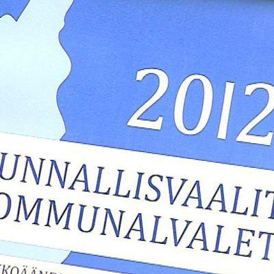 Kunnallisvaalien 2012 mainos