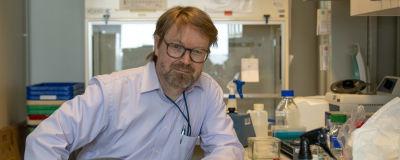 Porträtt på professor Olli Vapalahti.