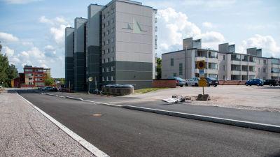 Bild på kantstenarna på Rådmansgatan