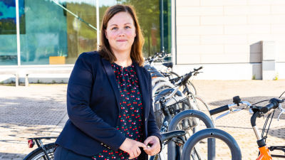 Sanna Päivärinta, expert på hållbar utveckling vid Borgå stad