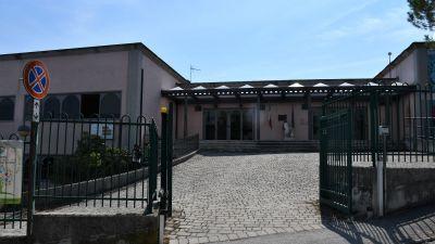En skola i staden Fabriano som från nästa vecka väntas ta emot sin del av landets över 8 miljoner skolbarn.