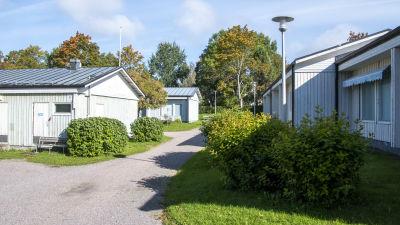 A-bostäders seniorbostäder i korsningen av Wittenbergsgatan och Vårbergavägen i Borgå.