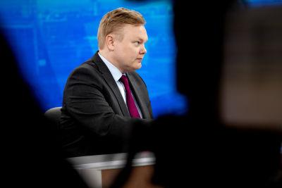 Antti Kurvinen i Yle aamu.