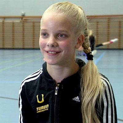 Kaisa Seppälä haastattelukuvassa.