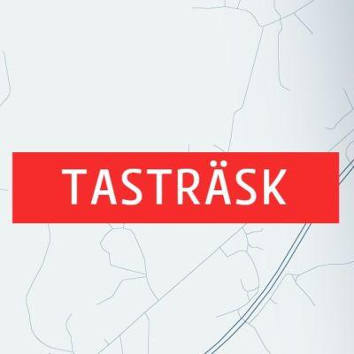 Karta över Tasträsk och Söderkulla