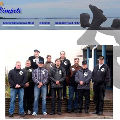 Kuvakaappaus Haloo Vimpeli -kansanliikkeen verkkosivulta.
