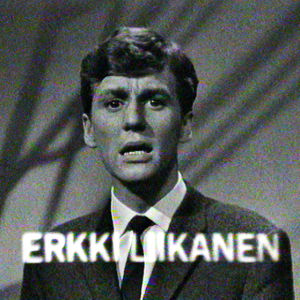 Laulaja Erkki Liikanen esiintyy Levylautasessa.