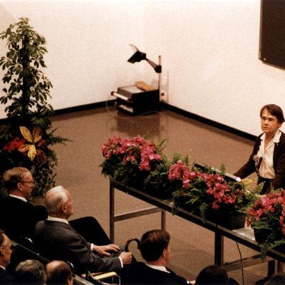 Barbara McClintock Nobel-luento