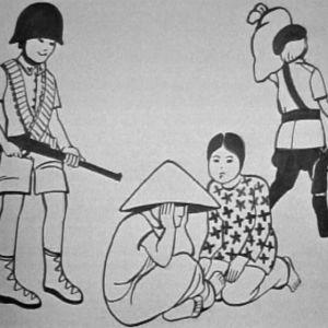 Piirros elämästä Vietnamin sodassa