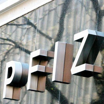 Pfizerin logo.