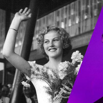 Vasemmanpuoleinen valokuva on vuoden 1952 Miss Universum Armi Kuuselasta hän palatessaan kisamatkalta Yhdysvalloista ja oikeanpuoleinen kuva rap-artisti Cheekista Ruisrockissa heinäkuussa 2014.