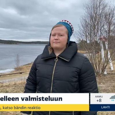 Inger-Elle Suoninen ja Tiina Sanila-Aikio