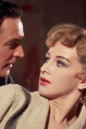 Taina Elg ja Gene Kelly elokuvassa Tytöt (Les Girls).