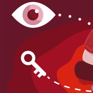 graafinen otsikko yksityisyys ja huijaukset