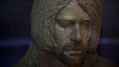 Kurt Cobain-staty