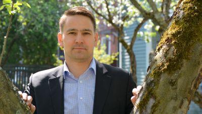 Borgå stads finansdirektör Henrik Rainio