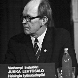 Insinööri Jukka Lehtosalo Helsingin työsuojelupiiristä