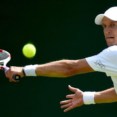 Jarkko Nieminen Wimbledonissa