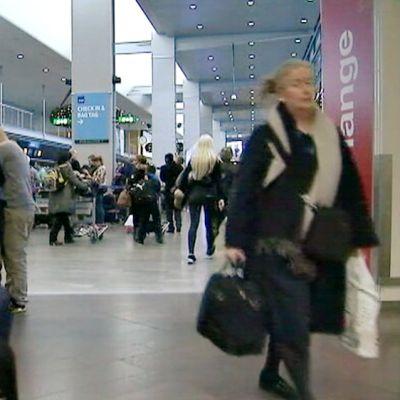 Arlandan lentoasema joulukuussa 2015.