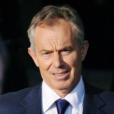 Ison-Britannian entinen pääministeri Tony Blair.
