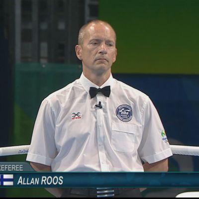 Nyrkkeilytuomari Allan Roos