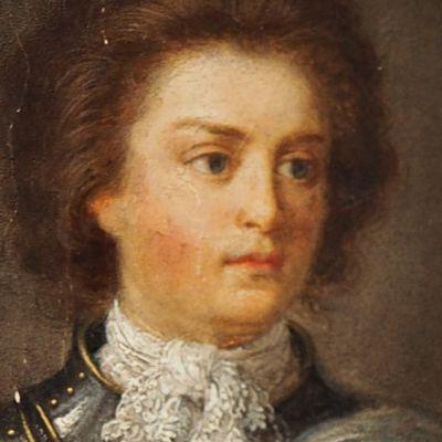 Philip Christoffer von Königsmarck sotilashaarniskassa.