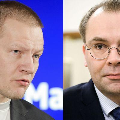Matias Turkkila ja Jussi Niinistö