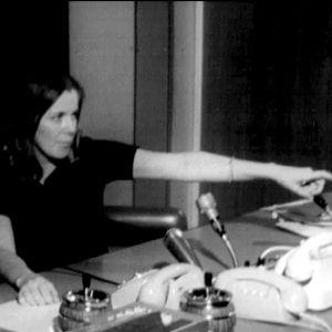 Tv-uutisten tuottaja Marjo Sundström (1969).