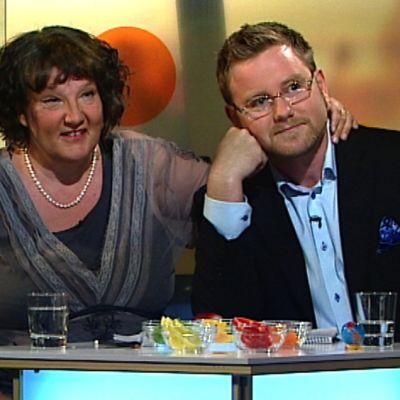 Monika Fagerholm, Alfons Röblom