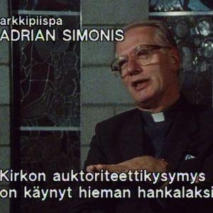 Alankomaiden arkkipiispa Adrian Simonis vuonna 1085