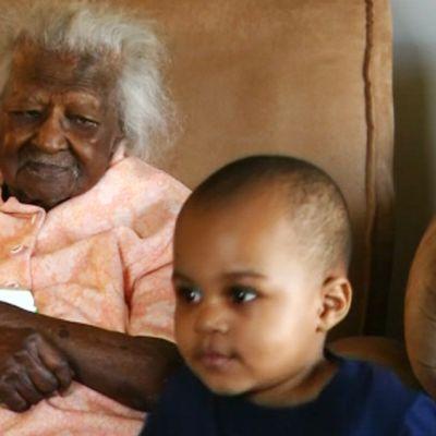 Maailman vanhin nainen.