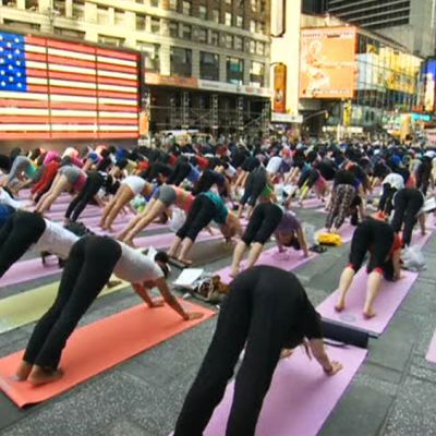 Joogaajia Times Squarella.