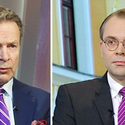 Ilkka Kanerva ja Jussi Niinistö.