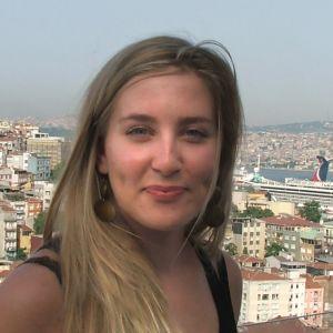 Johanna Vuorelma Istanbulissa