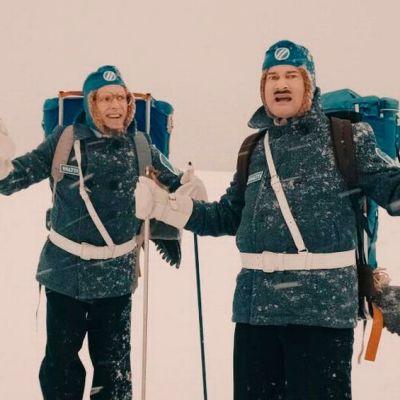 Maltti ja Valtti seikkailevat Ylläksen maisemissa Ylen joulukalenterissa vuonna 2015
