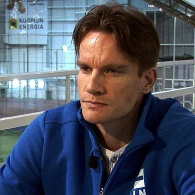 Tuomas Sammelvuo haastattelussa.